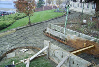 Construction of wheel-chair accessible fitness path in Salmon Arm, British Columbia