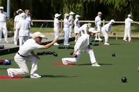 New artificial turf for Richmond Lawn Bowling Club, British Columbia