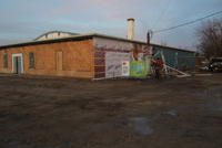 Renovation of the Ukrainian National Home in the town of Vita (RM Stuartburn), Manitoba.