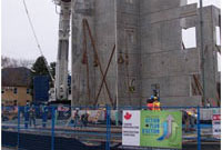Construction of Resource Centre in Chilliwack, B.C. Photo credit: Sto:lo Research Centre