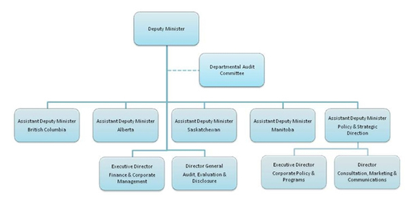 Governance and Decision-making Organizational Chart