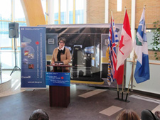 Minister Yelich announces $1.7 million in WDP funding for the College of the Rockies.