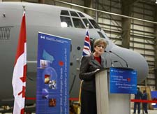 Minister Yelich makes Aerospace Industries Association of Canada (AIAC) funding announcement.