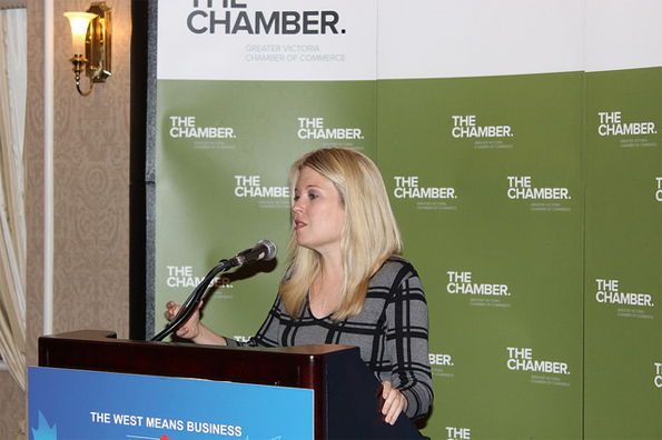 The Honourable Michelle Rempel provided remarks at a luncheon hosted by the Greater Victoria Chamber of Commerce.