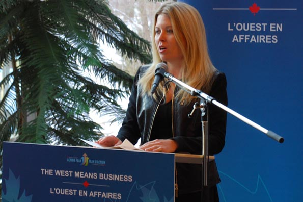 The Honourable Michelle Rempel, Minister of State for Western Economic Diversification, announced a $125,000 investment to assist the Association of University Research Parks (AURP) Canada.