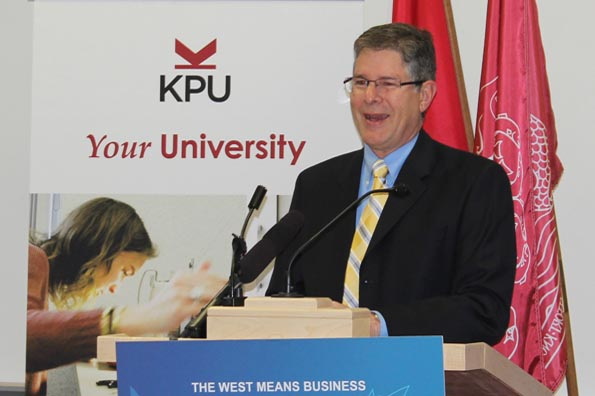 Mark Warawa, Member of Parliament for Langley, on behalf of the Honourable Michelle Rempel, Minister of State for Western Economic Diversification, announced $140,000 in funding provided through the Western Diversification Program (WDP).