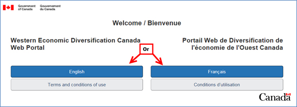 Using the WD Web Portal and GCKey (For Western Canada