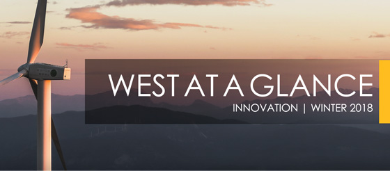 West at a Glance – Winter 2018 | INNOVATION